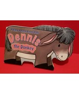 Education Gift Dennis The Donkey Board Book Read Fiction Animal Storyboo... - $5.69