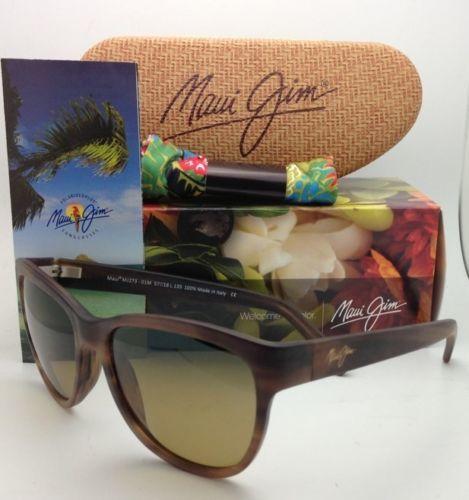 Polarizzati Maui Jim Occhiali da Sole Ailana Mj 273-01M Cioccolato W/ Hcl Bronzo