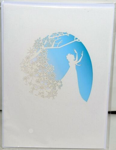 Lovepop LP2101 Disney Frozen Elsa Pop Up Card White Envelope Cellophane Wrapped