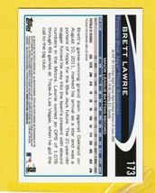 BRETT LAWRIE 2012 TOPPS CHROME TORONTO BLUE JAYS ROOKIE CARD  - $2.98