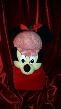 """Disney Store 11"""" Minnie Mouse Hand Puppet with Scottish Hat Boys & Girls - $26.72"""
