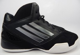Adidas Team Feather 2012 Size US 12 M (D) EU 46 2/3 Men's Basketball Shoes Black