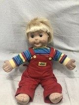 "Vintage 1985 Hasbro MY BUDDY DOLL Playskool Blonde Hair Hazel Eyes 23"" Clothing - $38.69"