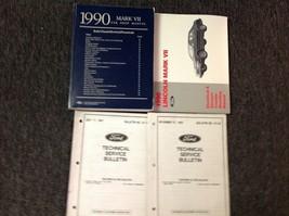1990 Ford Lincoln Mark VII 7 Service Shop Reparatur Workshop Manual Set W Evtm - $39.49