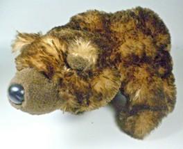 Ganz Webkinz Grizzly Bear Stuffed Bean Bag Plush Animal Toy HM187 No Code - $28.45