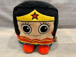 "WONDER WOMAN Six Flags 8"" Plush Cube Stuffed Toy - $14.84"