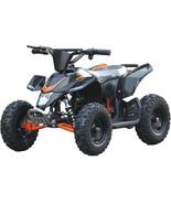 Four Wheeler Kids Black Mini ATV Dirt Bike Electric Battery Boys Girls 2... - $573.20
