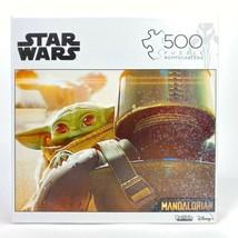 NEW Star Wars The Mandalorian The Child Baby Yoda 500 Piece Buffalo Game... - $32.67