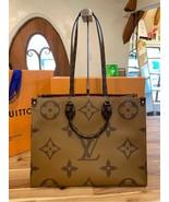 Louis Vuitton ONTHEGO Tote Giant Brown Monogram bag 2019 ON THE GO M44576 - $3,554.10