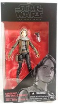 "Star Wars Rogue One 6"" Black Series Sergeant Jyn Erso (Jedha) Action Fig... - $7.78"