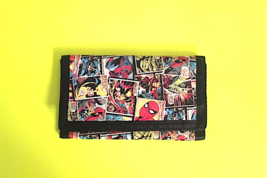 Cool Marvel Comics Trifold  Wallet—More Character Wallets Available Too! - $12.47