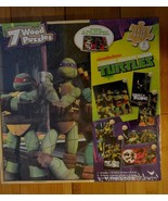 Teenage Mutant Ninja Turtles TMNT 7 Wood Puzzles in Storage Box - NEW - $17.24