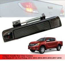 Carbon Tailgate Handle Rear View Camera For Mazda BT-50 BT50 Pro 2012 - ... - $119.99