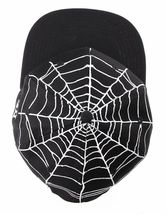40 Oz NYC Forty Ounce New York Black Top Spider Web Snapback Baseball Hat NWT image 6