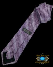 """New KENNETH COLE REACTION Silk TIE Purple Designer 59"""" $45 Retail - $18.95"""