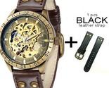 Anical wrist watch with leather strap analog luminous hands shenhua 2018 automatic thumb155 crop