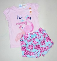 Gymboree Girls Flamingo Tank Shorts  2T  NWT - $17.81+