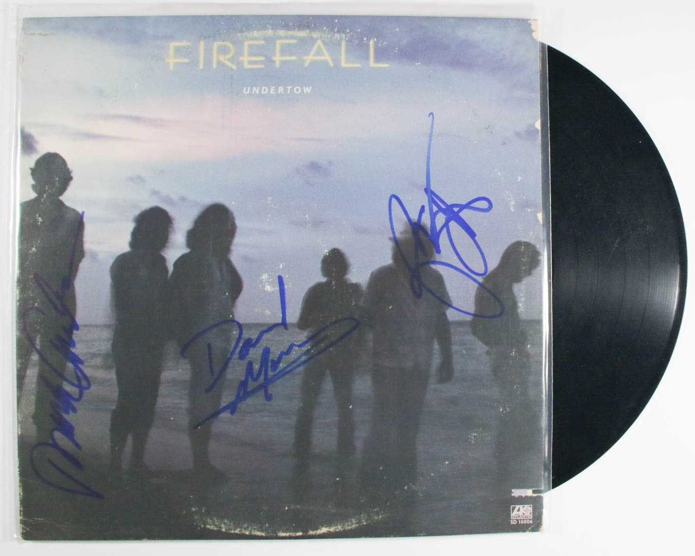 "Primary image for Firefall Band Signed Autographed ""Undertow"" Record Album"