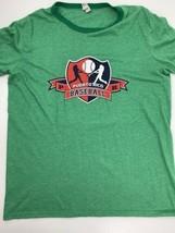 Puerto Rico Baseball Green T-Shirt Size L - $12.86