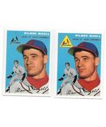 1954 Topps Archives St. Louis Cardinals Wilmer Mizell #249 Gold & Regula... - $1.28