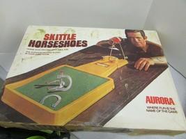 VTG 1972 AURORA SKITTLE HORSESHOES GAME #5522 COMPLETE BOXED - $21.55