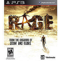 RAGE Anarchy Edition (Sony PlayStation 3) PS3 Video Game Complete - $15.88