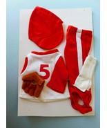 1982 FISHER PRICE MY FRIEND 233 BASEBALL OUTFIT Shirt Leggings Cap Glove - $21.78