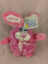 "Dan Dee Pink Rabbit Easter Bunny Plush 6"" Kmart Poseable Ears Stuffed An... - $9.70"
