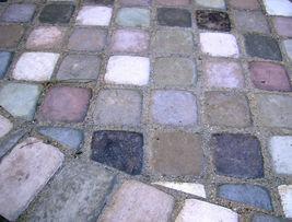 "Six Concrete Molds 8""x8""x1.5"" Make 100s of Cobblestones For Patio, Walks, Walls image 3"