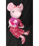 Madame Alexander Bedtime Angelina Ballerina Plush Stuffed Animal Doll Pink - $25.25