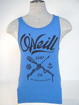 O'Neill Signature Modern Fit Blue Sleeveless Tank Muscle Shirt Men's NWT - $26.24