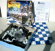 Harry Potter Wizard Chess Set Board Game 2002 Mattel 43533 100% Complete... - $18.95