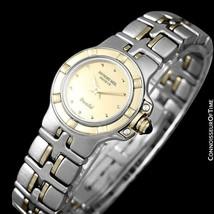 Raymond Weil Parsifal Ss & 18K Gold Ladies Watch Mint With Warranty - $612.26