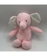Carters Just One You Pink Elephant Crinkle Ears Plush Rattle Baby Toy Lo... - $16.82