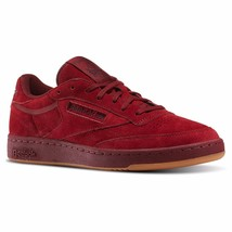 Reebok Club C 85 TG Burgundy BD1844 Original Shoes Men's - $69.95