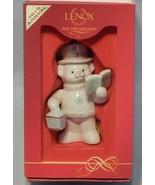 2010 Lenox Annual Holiday Teddy Ornament Teddy's Christmas Carols - $24.75