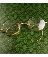 Antique 14kt gold folding spectacles - Victorian eyeglasses - Bifocal pr... - $110.00