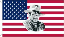 5 x 3' John Wayne Usa Flag - $7.99
