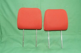 10-13 Kia Soul Front Cloth 2 Headrests Headrest Set RED image 1