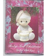 Precious Moments - Baby's First Christmas Special 1991 Issue Ornment - $27.83