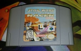 Star Wars: Episode I: Racer (Nintendo 64, 1999) Not For Resale w/ Back S... - $101.59