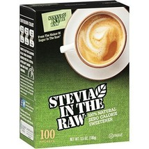(qty-3) Stevia In The Raw Sweetener - Packets - 100 Count in each box - $16.82