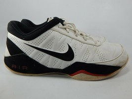 Nike Air Ring Leader Low Size 9.5 M (D) EU 43 Men's Basketball Shoes White Black