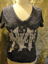 MLB New York Yankees women's X-large blue short sleeve T-shirt. New with tags. - $19.00