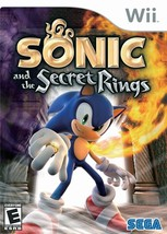 Sonic And The Secret Rings WII Game ( No Manuel) - $8.95