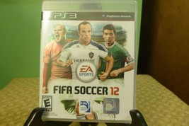 FIFA Soccer 12 PS3 (Sony PlayStation 3, 2011) VG Condition W/ Manual - $9.89