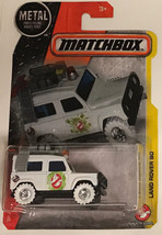 Matchbox Custom Ecto Land Rover 90 Ghosbusters limited edition - $62.77