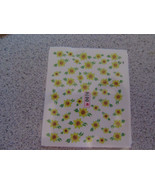 NAIL ART WATER TRANSFERS (FLOWERS) #2 - $4.95