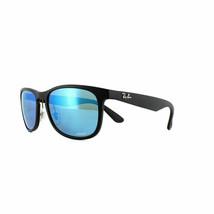 Ray-Ban Chromance Black Frame / Polarized Blue Mirror RB 4263-601SA1-55 - $128.69