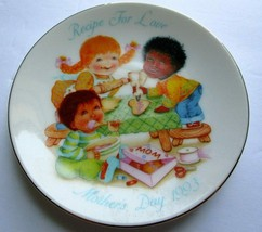 Recipe For Love Avon Plate Mother's Day Collectible Fine Porcelain 22K G... - £3.61 GBP